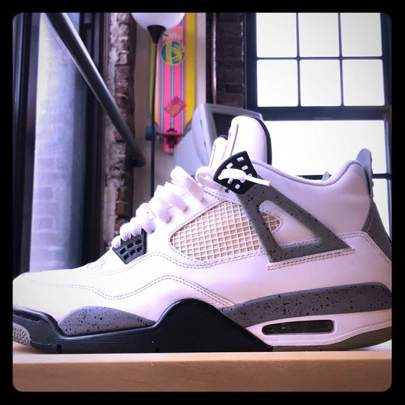 f97438f0fa42 Jordan Other - Air Jordan 4 White Cement